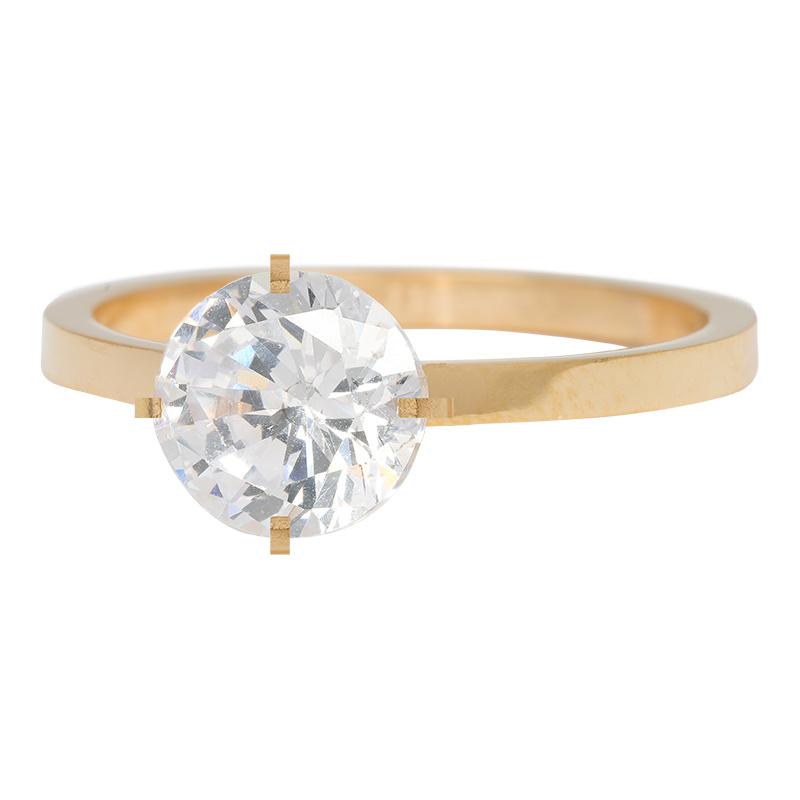 iXXXi Jewelry Secure Crystal Goudkleurig 2mm