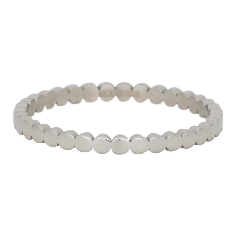 iXXXi Jewelry Flat Circels Zilverkleurig 2mm