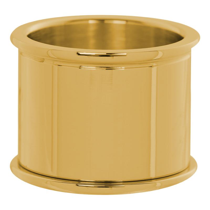 iXXXi Jewelry Basis Ring 16mm Goudkleurig