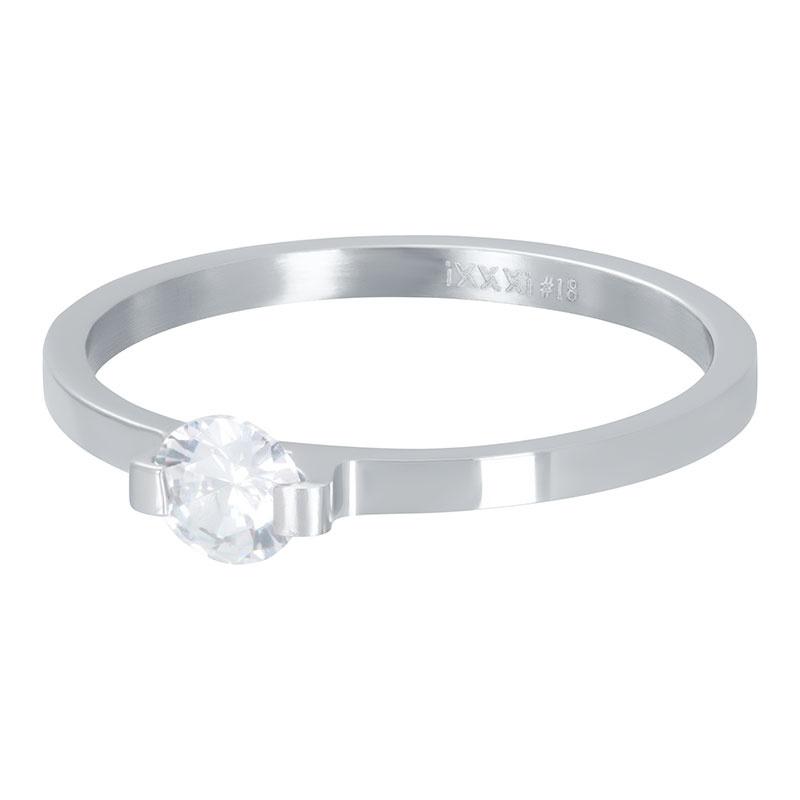 iXXXi Jewlery Vulring Mini glamour Stone 2mm Zilverkleurig