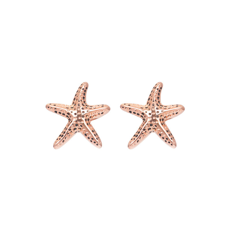 iXXXi Jewelry Ear Studs Starfish Rosé