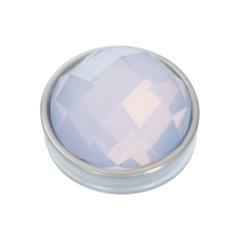 iXXXi Jewelry Top Part Facet Opal Zilverkleurig