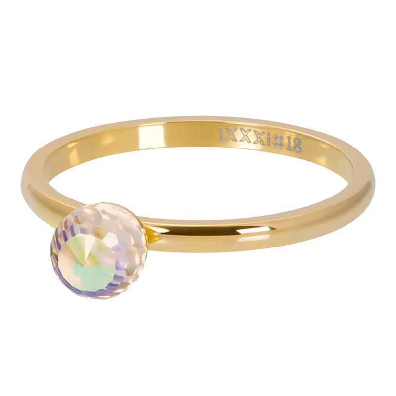 iXXXi Jewelry Vulring Crystal Glass Ball AB 2mm Goudkleurig