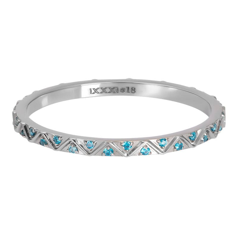 iXXXi Jewelry Vulring Bohemian Aqua Silver