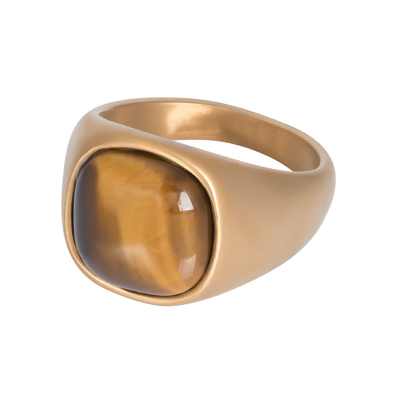 iXXXi Men Ring Cadillac Matt Gold