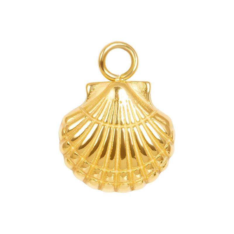 iXXXi Jewelry Charm Shell Goudkleurig
