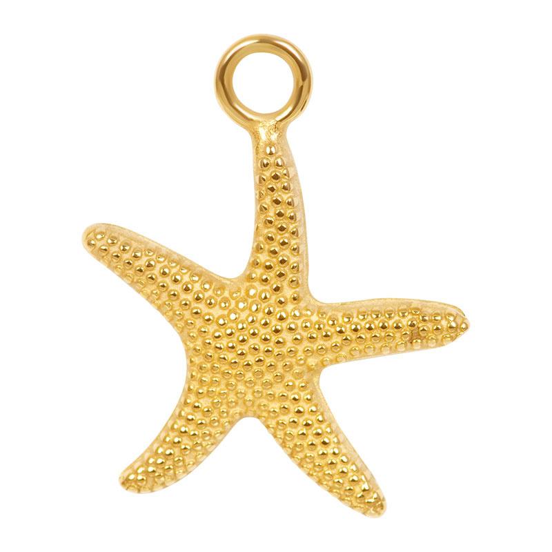 iXXXi Jewelry Charm Starfish Goudkleurig
