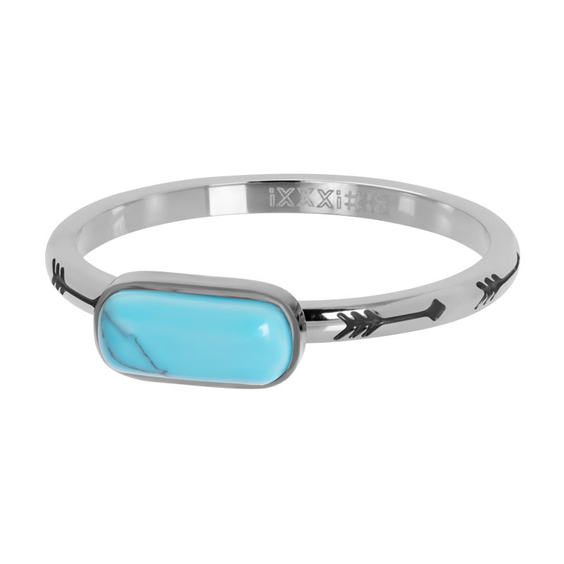 iXXXi Jewelry Vulring Festival Turquoise Silver