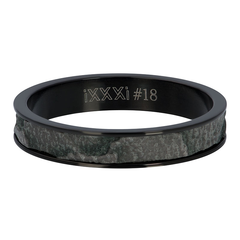 iXXXi Jewelry Vulring 4mm Elephant Zwart