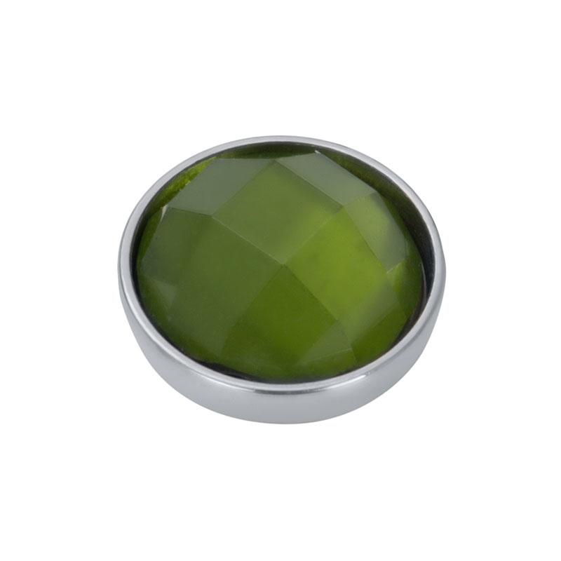 iXXXi Jewelry Top Part Facet Olivina Zilverkleurig