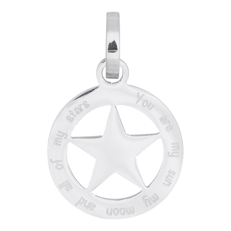 iXXXi Jewelry Hanger Ster Zilverkleurig ∅22