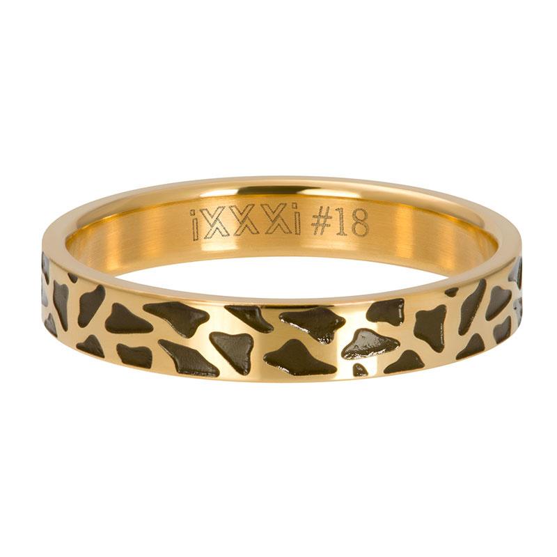iXXXi Jewelry Vulring 4mm Panther Goudkleurig