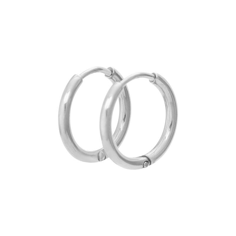 iXXXi Jewelry Creool 15 mm Zilverkleurig