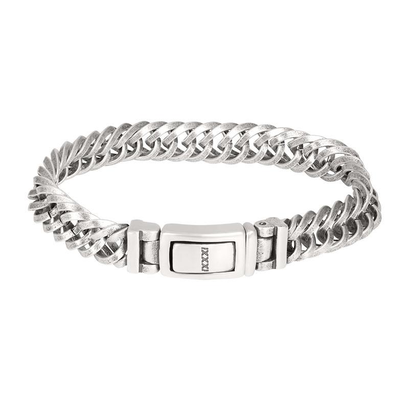 iXXXi Men Bracelet Nepal  Silver