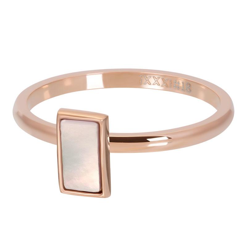 iXXXi Jewery Vulring Pink Shell Stone 2mm Rosé