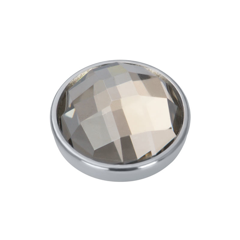 iXXXi Jewelry Top Part Facet Velvet Zilverkleurig