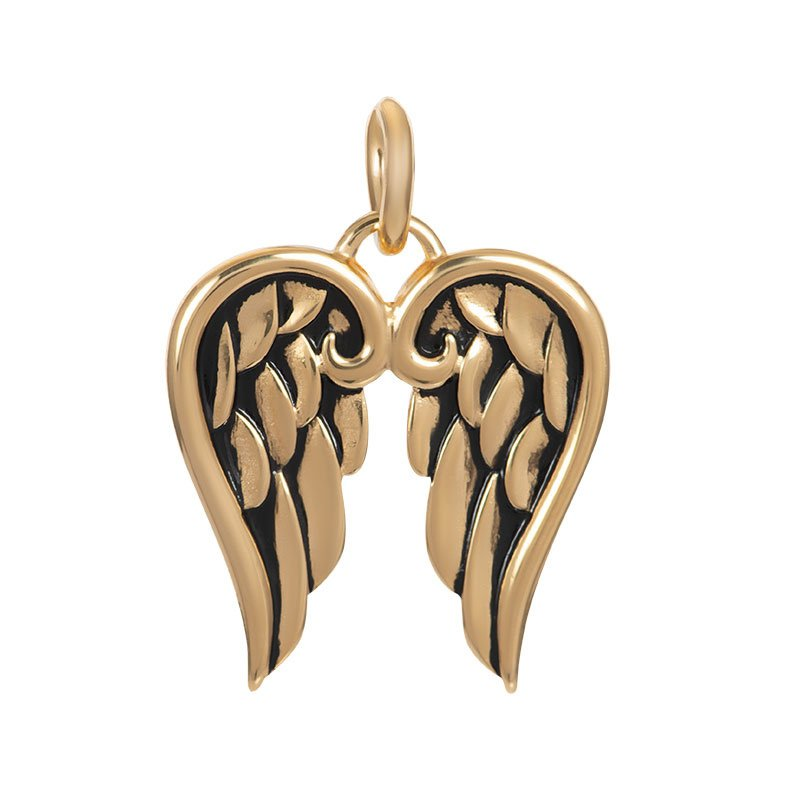 IXXXI Jewelry Pendant Wings Gold