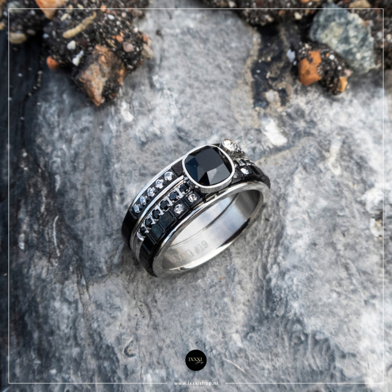 iXXXi Jewelry Royal Glam Combi Ring 22