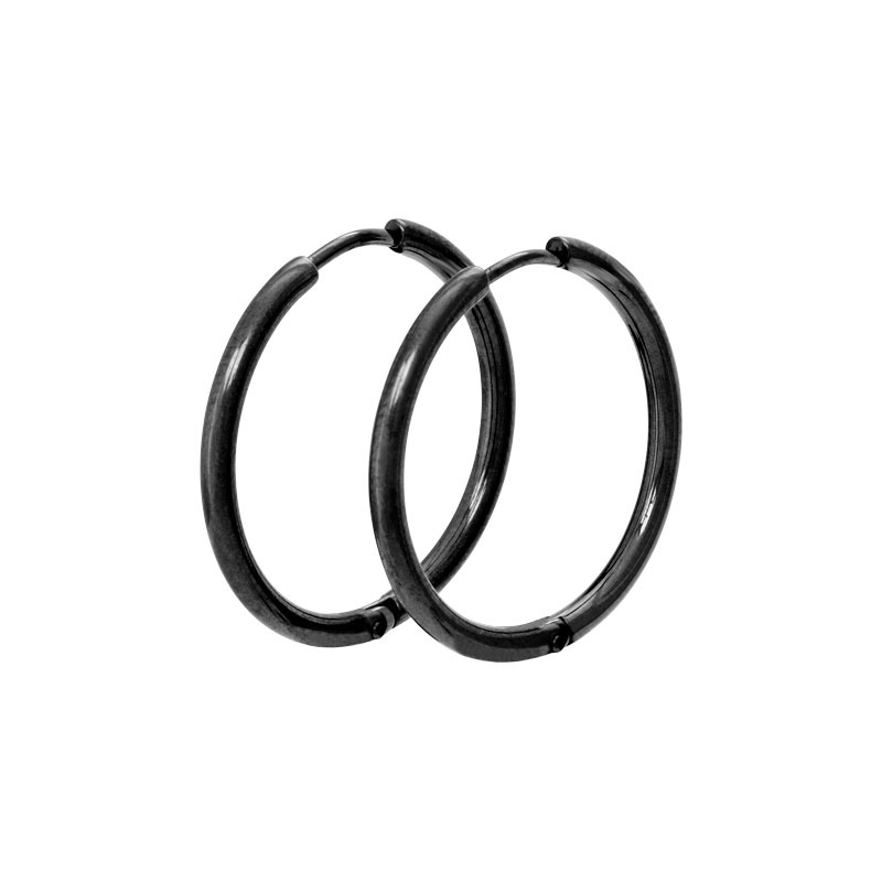 iXXXi Jewelry Creool 24 mm Zwart