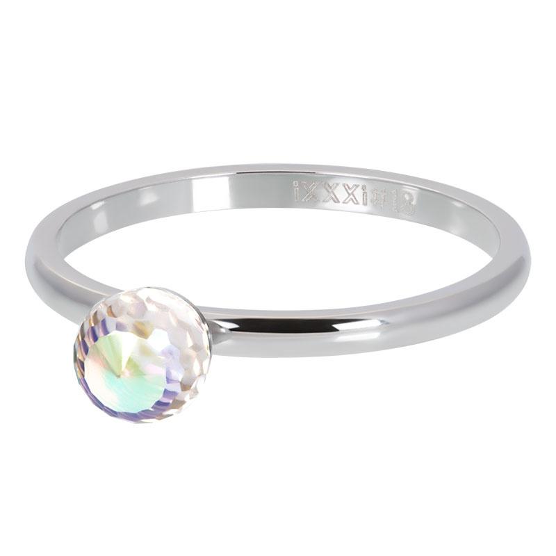 iXXXi Jewelry Vulring Crystal Ball AB 2mm Zilverkleurig
