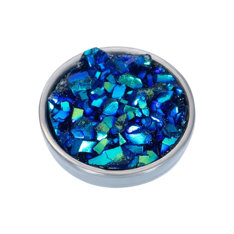 iXXXi Jewelry Top Part Drusy Capri Blue