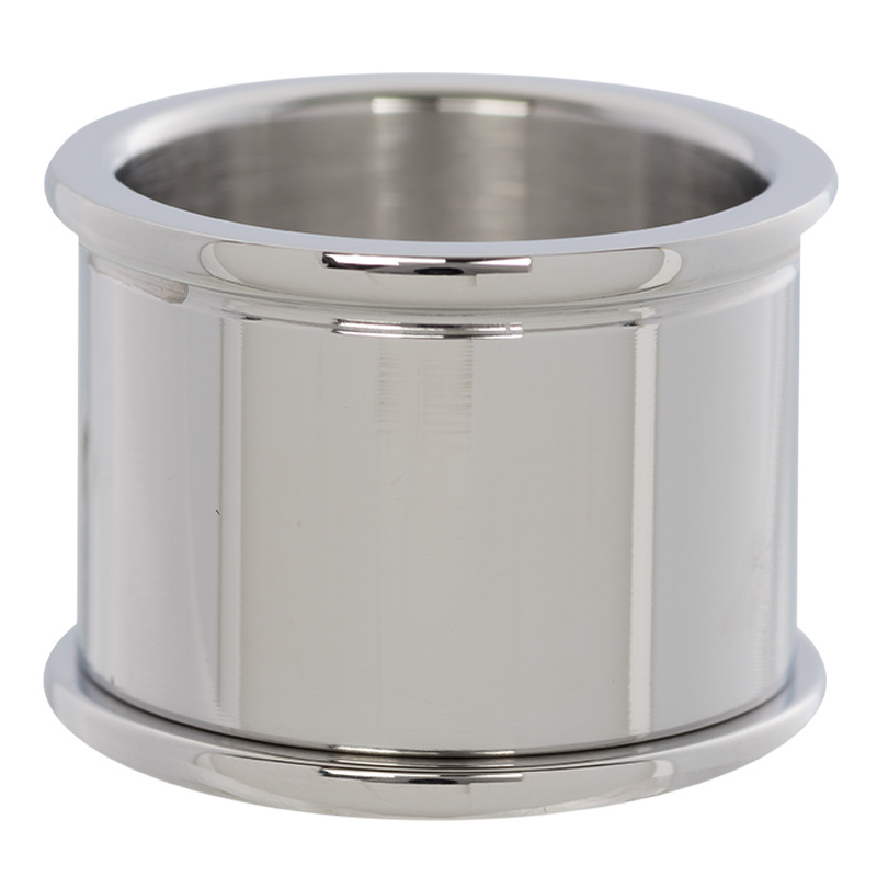 iXXXi Jewelry Basis Ring 16mm Zilverkleurig