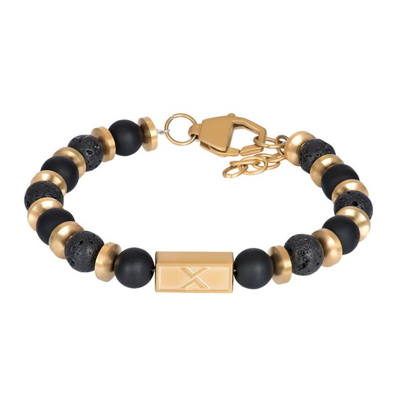 iXXXi Men Bracelet Lionel  Gold/Black