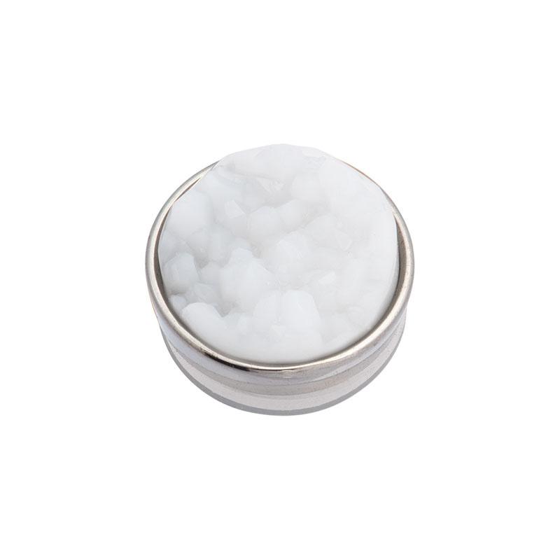 iXXXi Jewelry Top Part Drusy White Zilverkleurig