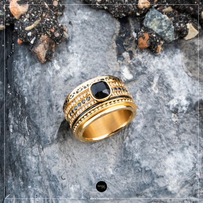 iXXXi Jewelry Royal Glam Combi Ring 23