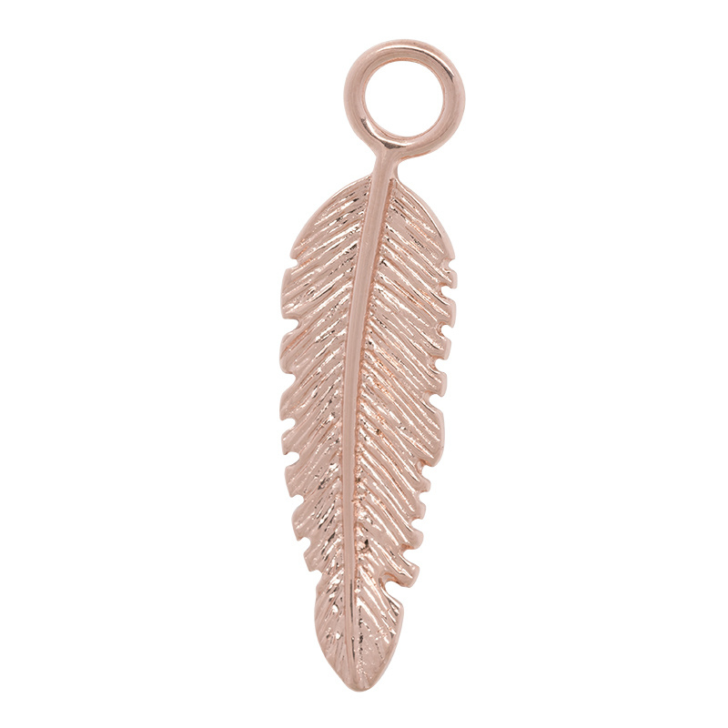iXXXi Jewelry Charm Feather Rosé