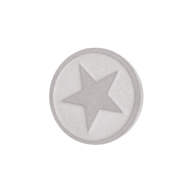 iXXXi Jewelry Top Changes Star Zilverkleurig