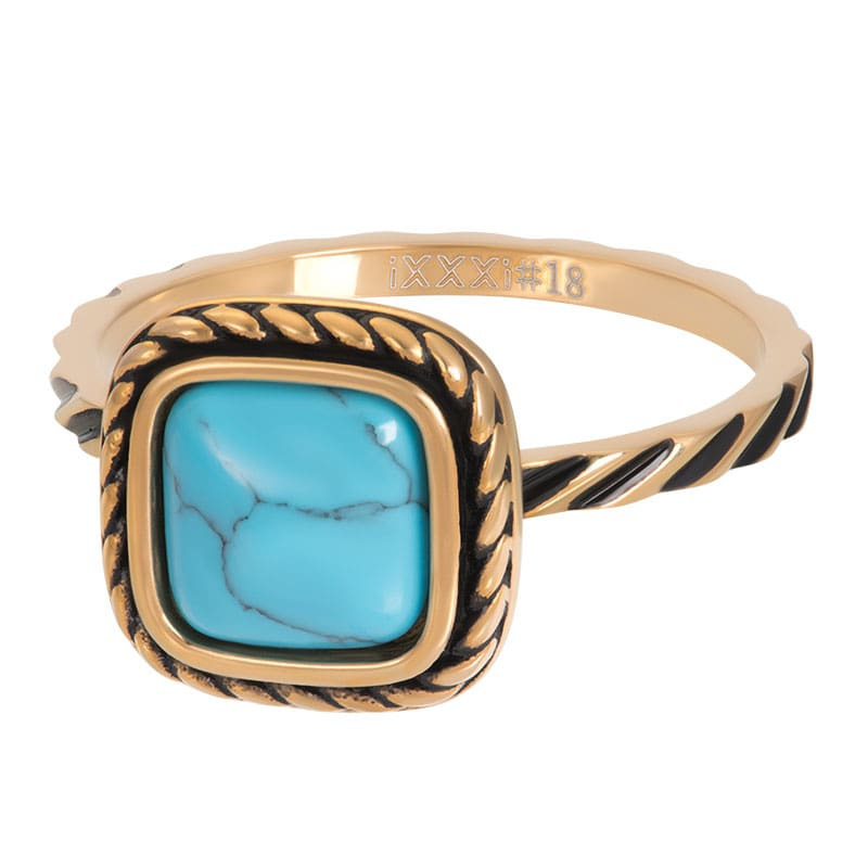 iXXXi Jewelry Vulring Summer Turquoise Gold