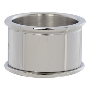 iXXXi Jewelry Basis Ring 12mm Zilverkleurig