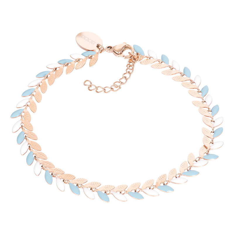 iXXXi Jewelry Bracelets Malediven Blue Rosé