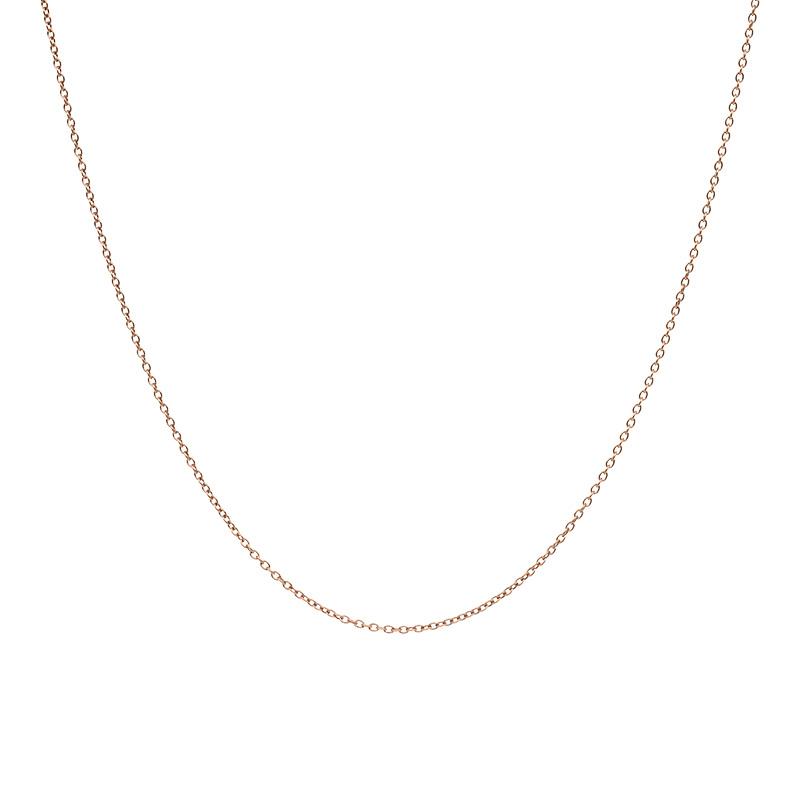 iXXXi Jewelry Ketting 1mm 40-80cm Bruin