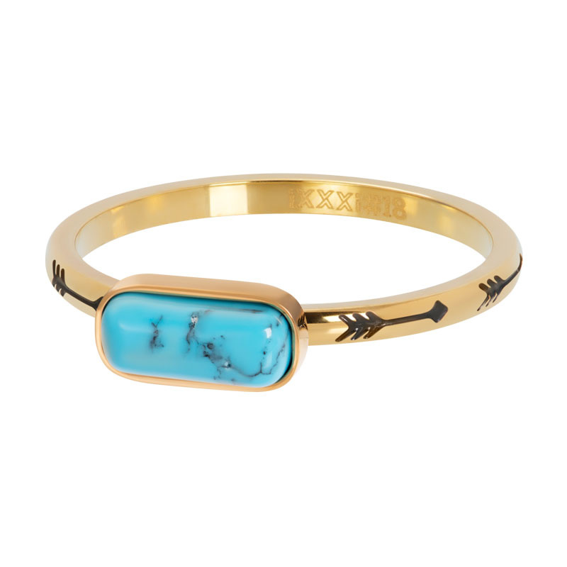 iXXXi Jewelry Vulring Festival Turquoise Gold