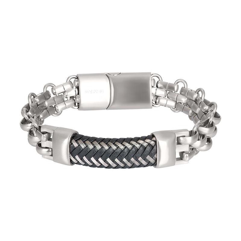 iXXXi Men Bracelet Grenoble Silver