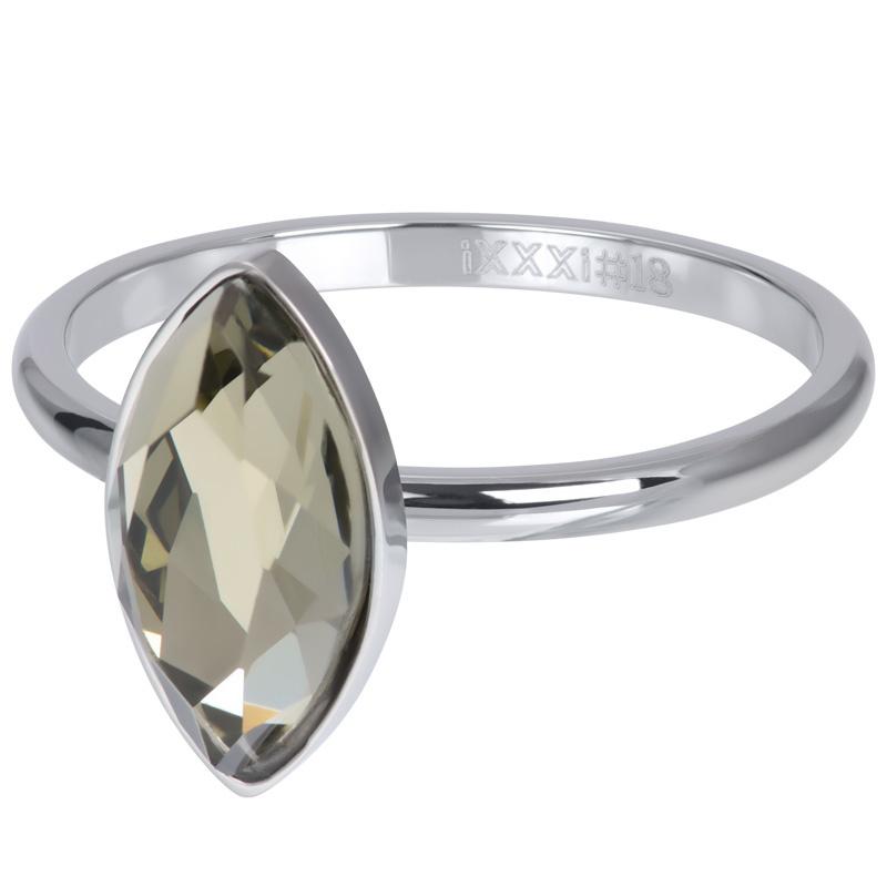 iXXXi Jewelry Vulring Royal Diamond Crystal 2mm Zilverkleurig