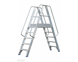 Solide Platform met dubbele toegang 2x5