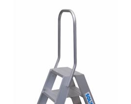 Solide beugel voor dubbele trap