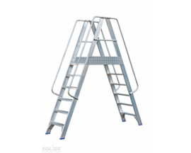 Solide Platform met dubbele toegang 2x6