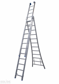 Solide 3x12 ladderdelen (smaldeel) Bouwladder