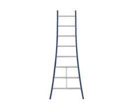 DAS enkele ladder 8 sporten