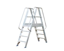 Solide Platform met dubbele toegang 2x4