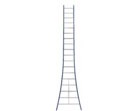 DAS enkele ladder 18 sporten
