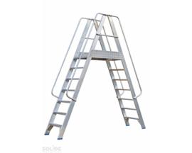 Solide Platform met dubbele toegang 2x7
