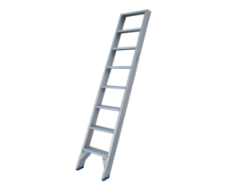 Solide enkele trap ET 8 treden