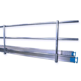 Alu-Top werkbrug Leuning 4,0m