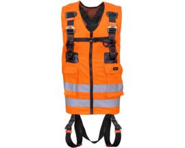 Veiligheidsvest/harnas oranje