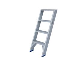 Solide enkele trap ET 4 treden